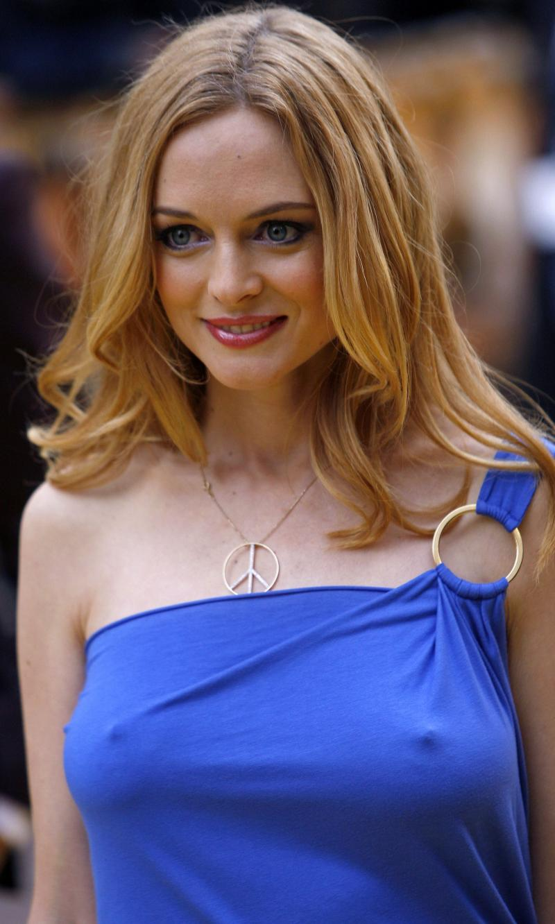 Heather graham no makeup pictures