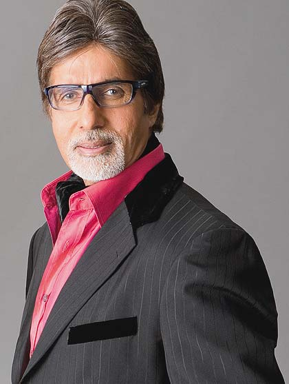 Bollywood legend Amitabh Bachchan