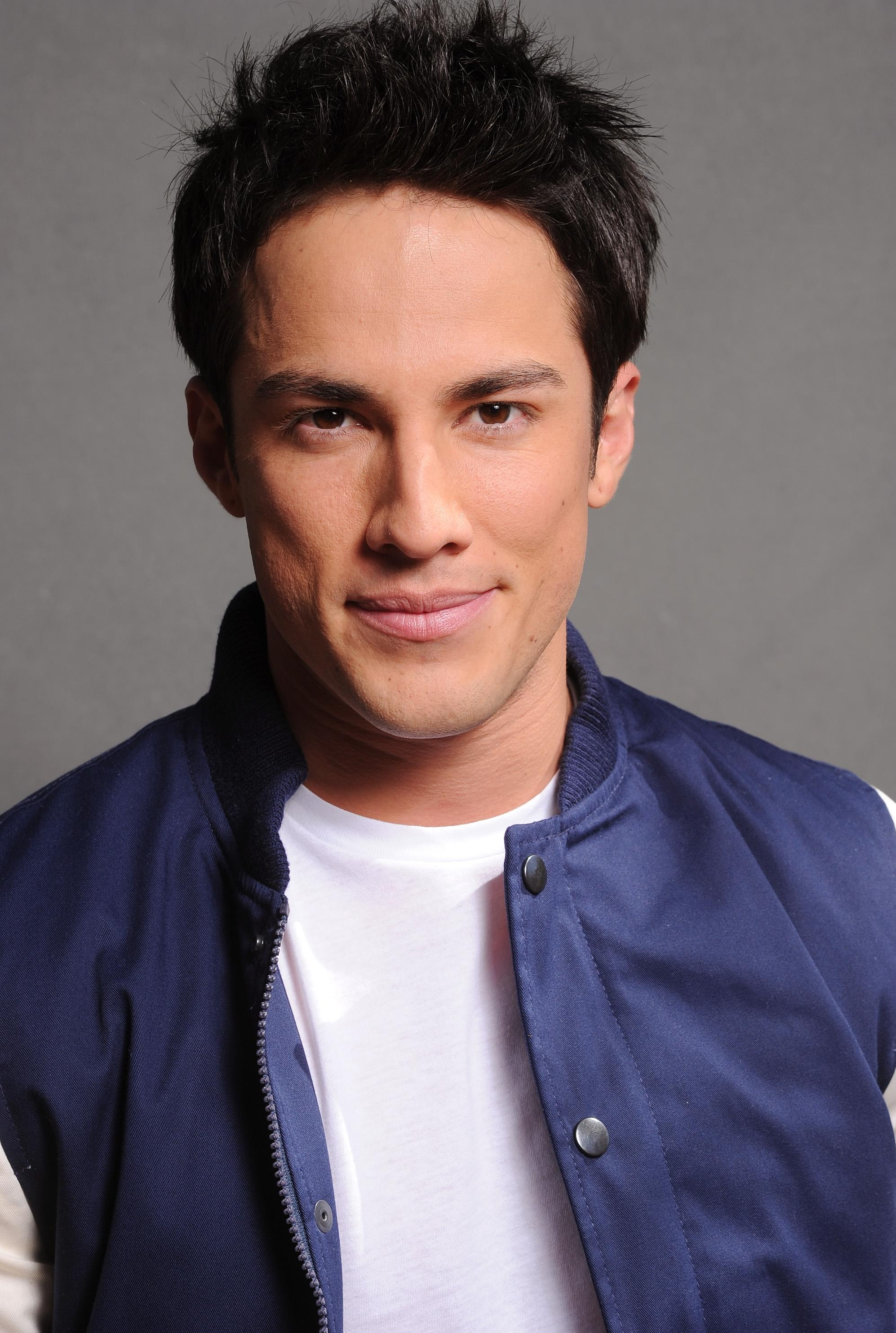 The 33-year old son of father (?) and mother(?), 175 cm tall Michael Trevino in 2018 photo