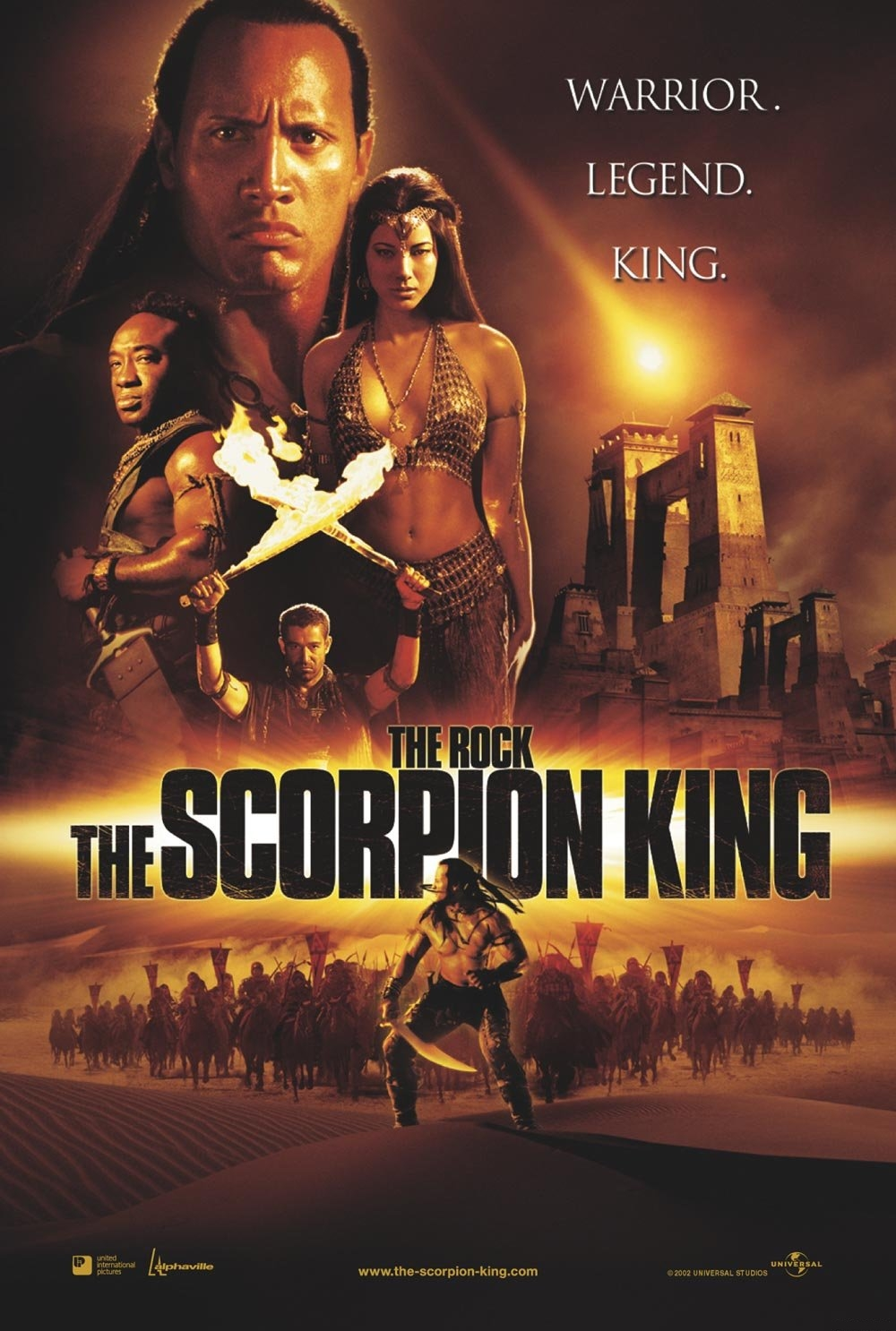 Postere the scorpion king