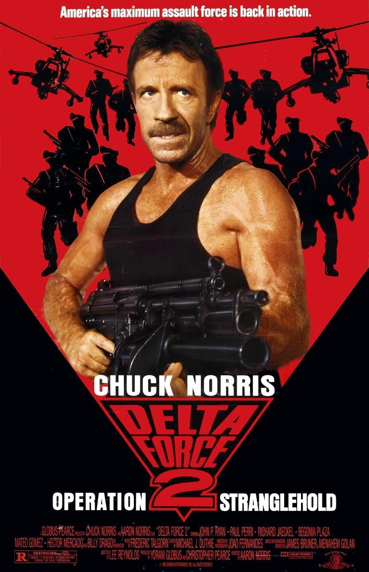 Fuerza Delta 2 - 1990 - Chuck Norris y Billy Drago