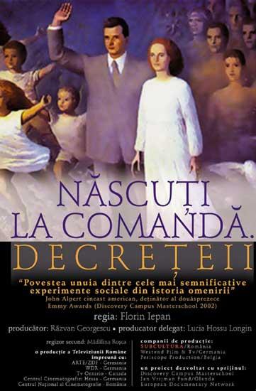 Născuţi la comandă - Decreţeii (2005) - DOC