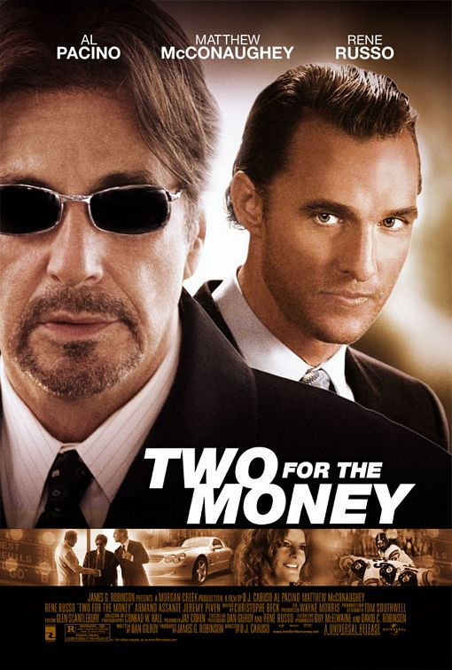 Post thumbnail of Two for the Money – Viaţa ca un pariu (2005)