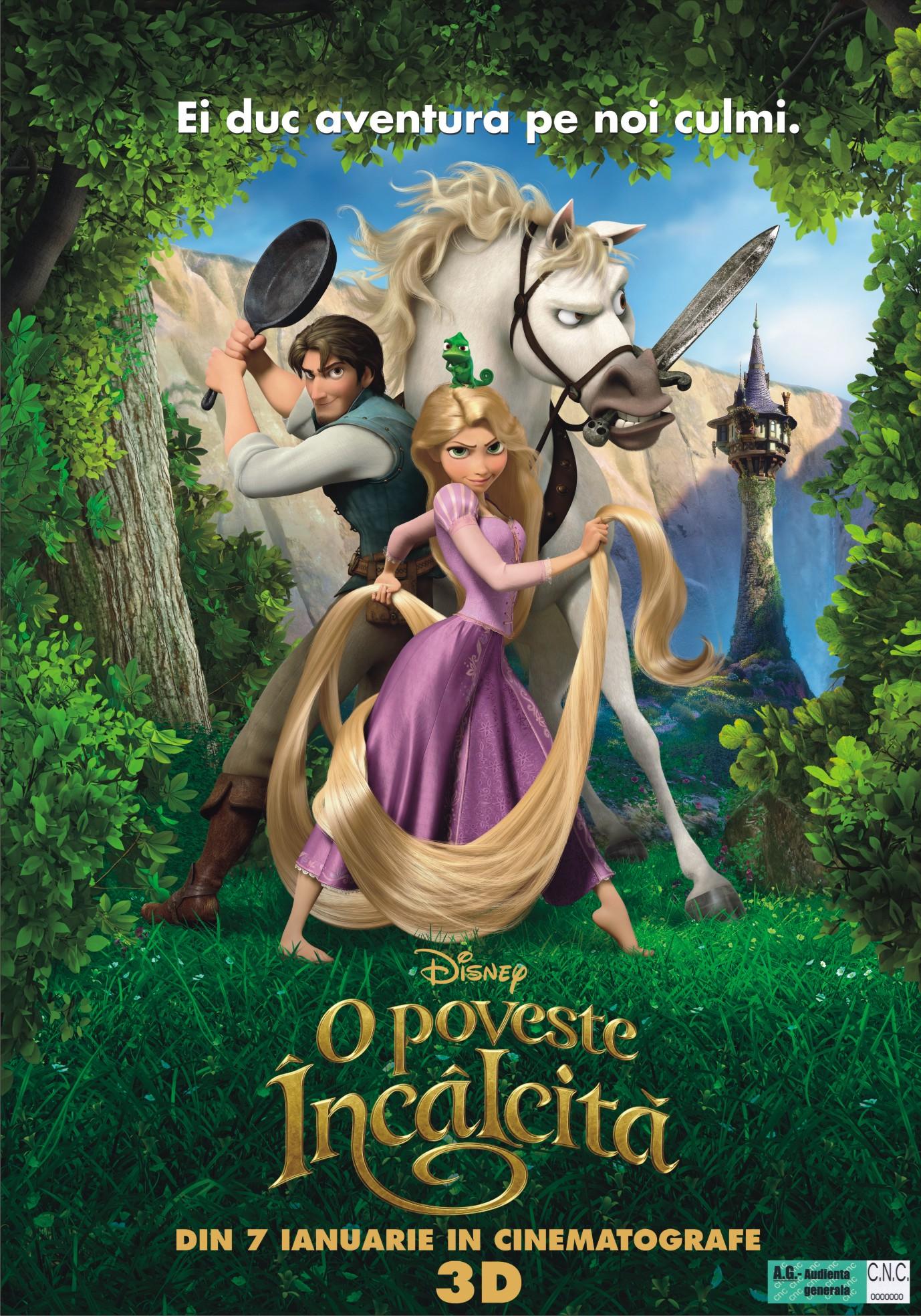Tangled - O poveste incalcita (2010)