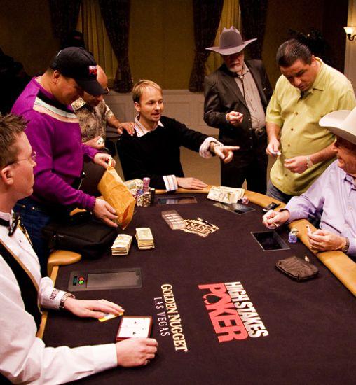 Poker high stakes database