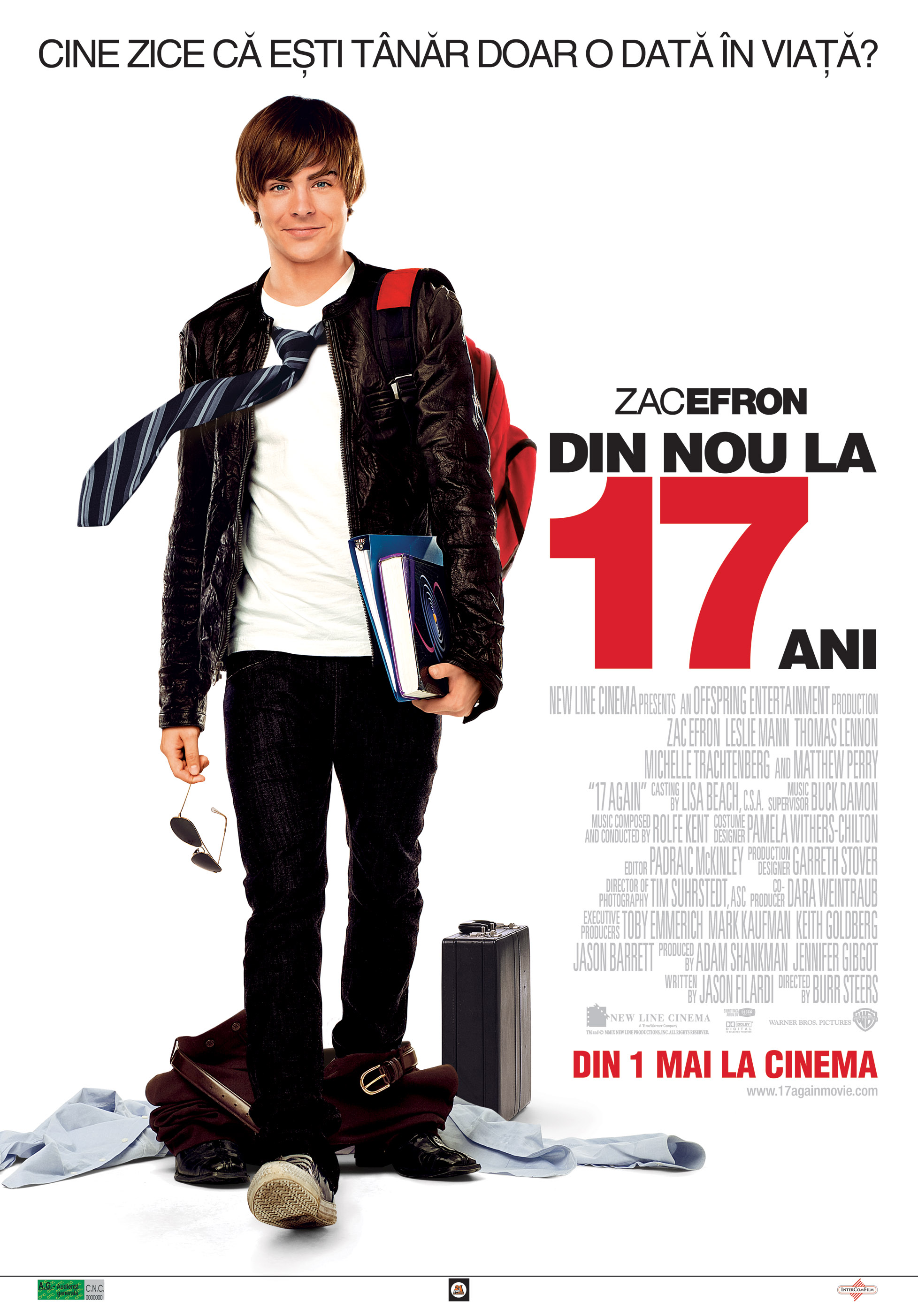 17 Again Din Nou La Ani wallpaper