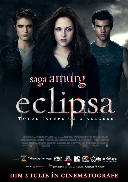 Coperta The Twilight Saga: Eclipse (2010) Subtitrat