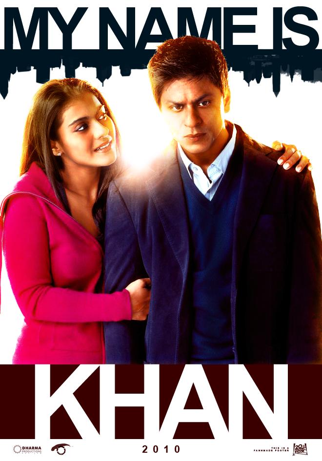 Poster My Name Is Khan (2010) - Poster Numele meu este ...  My Name Is Khan Poster