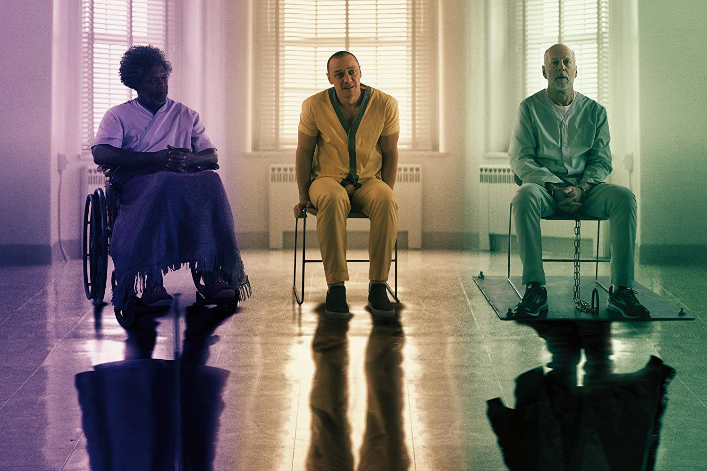 James McAvoy, Bruce Willis, Samuel L. Jackson
