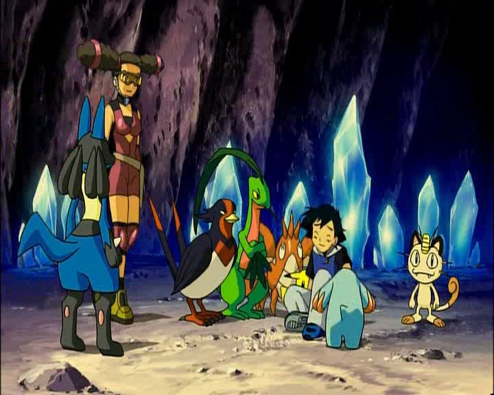 pokemon lucario and the mystery of mew ending relationship