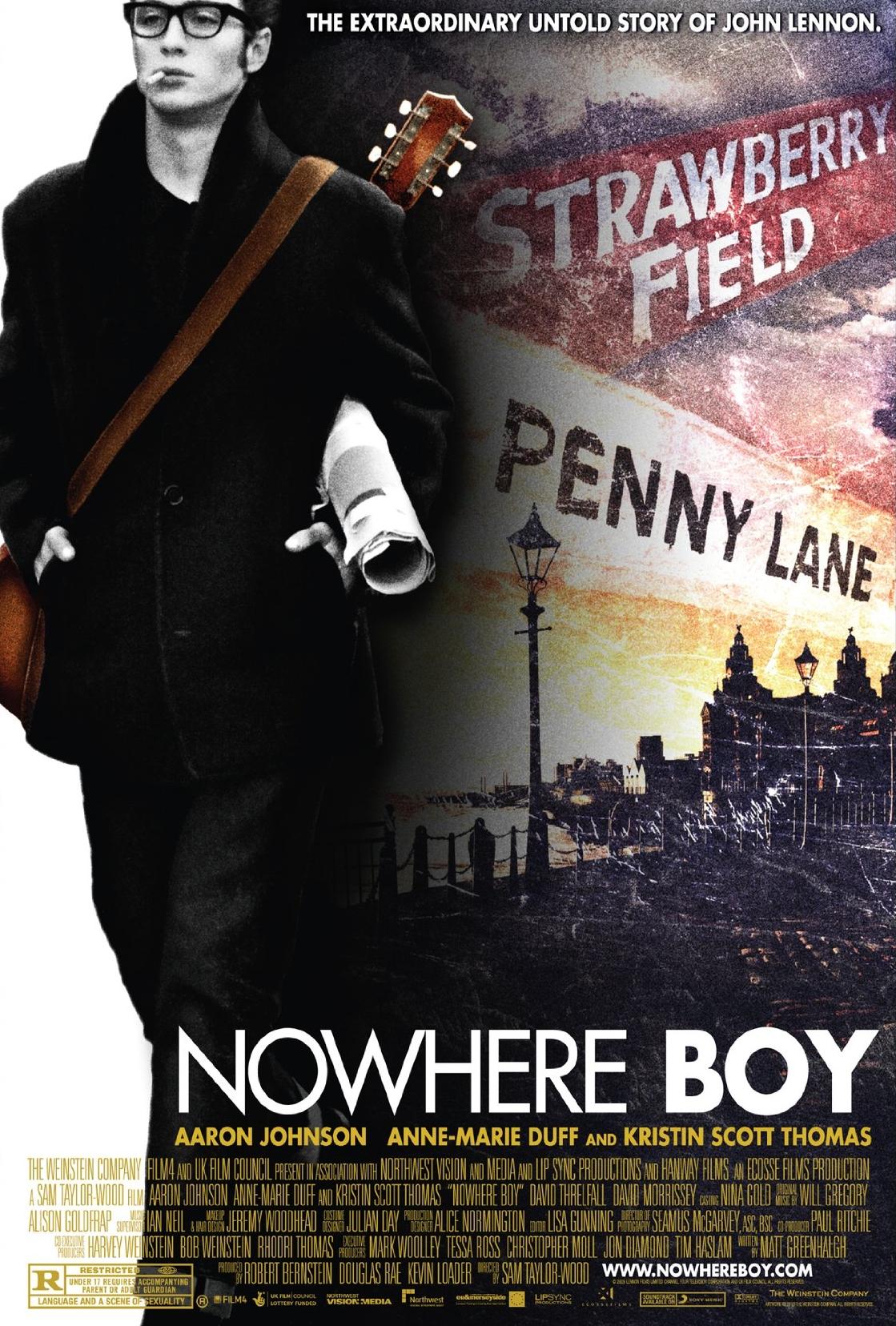 NOWHERE BOY – JOHN LENNON: INCEPUTUL UNEI LEGENDE (2009)