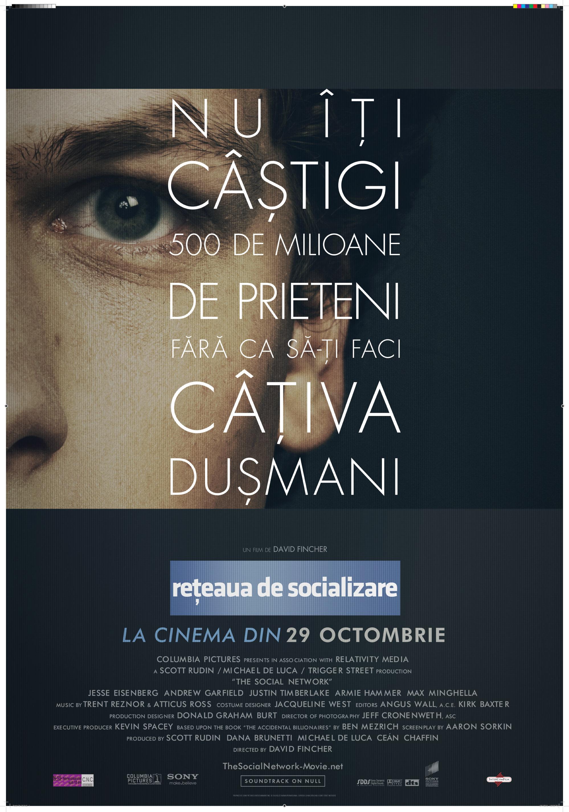 THE SOCIAL NETWORK – RETEAUA DE SOCIALIZARE (2010)