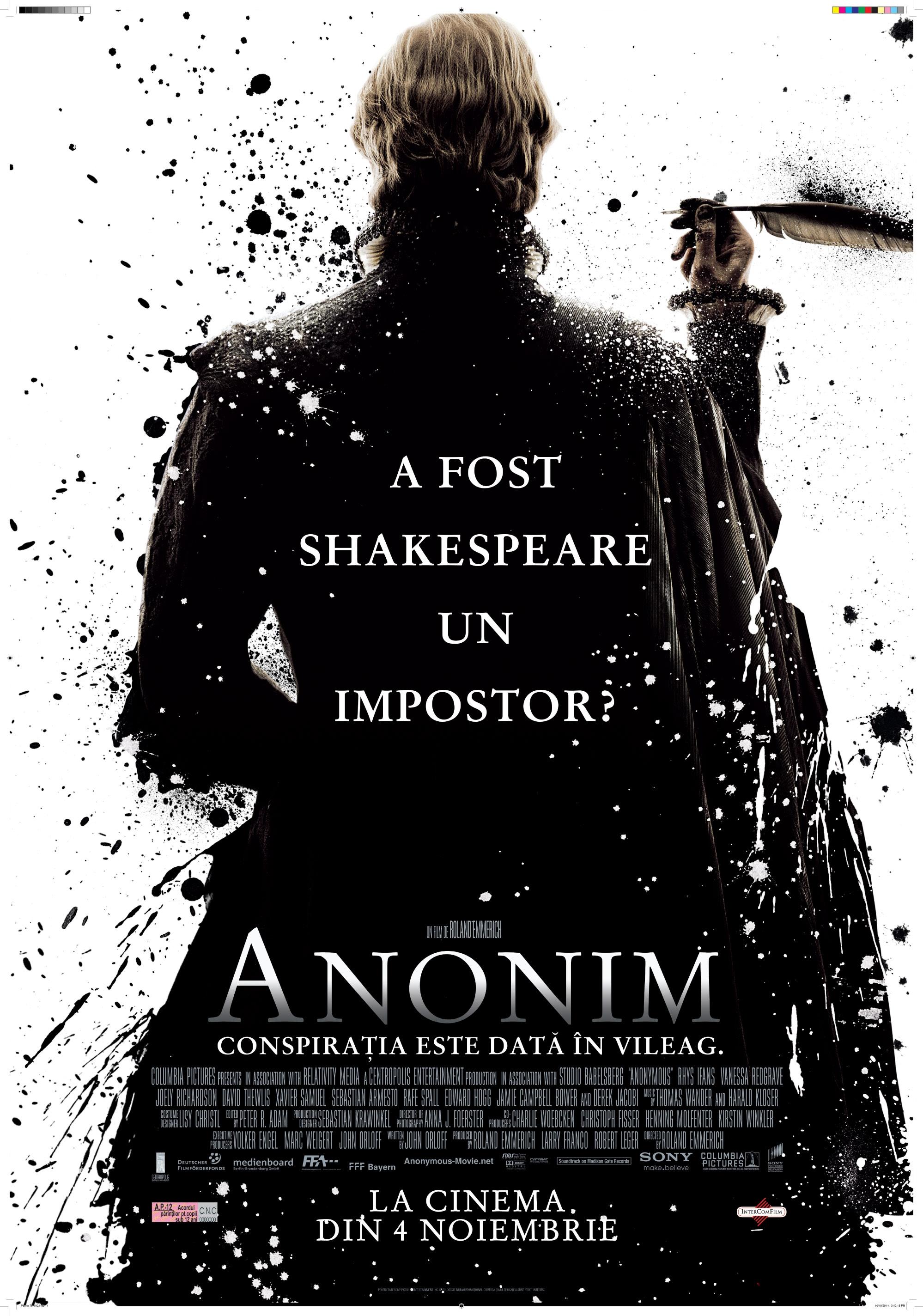 ANONYMOUS – ANONIM (2011)