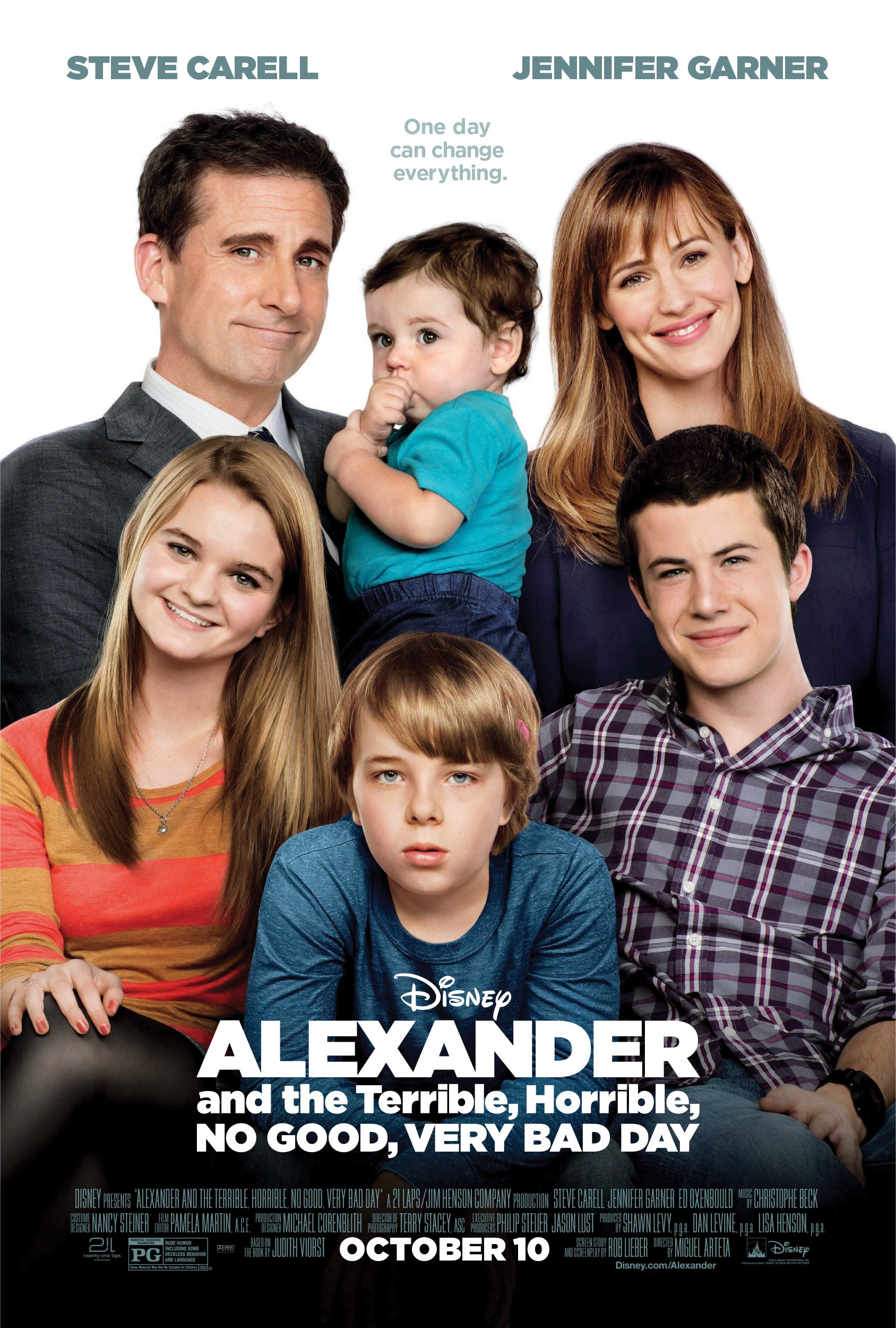 Alexander and the Terrible, Horrible, No Good, Very Bad Day – Alexander şi cea mai oribilă zi (2014) Online Subtitrat