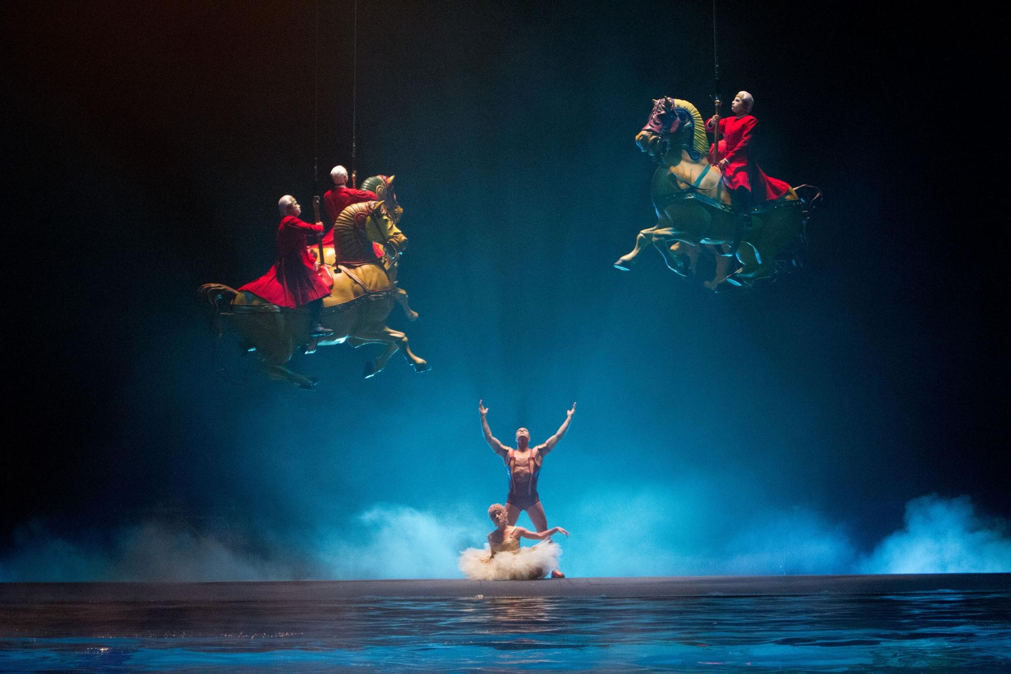 Movie Review: Cirque Du Soleil: Worlds Away - 3D Captures.