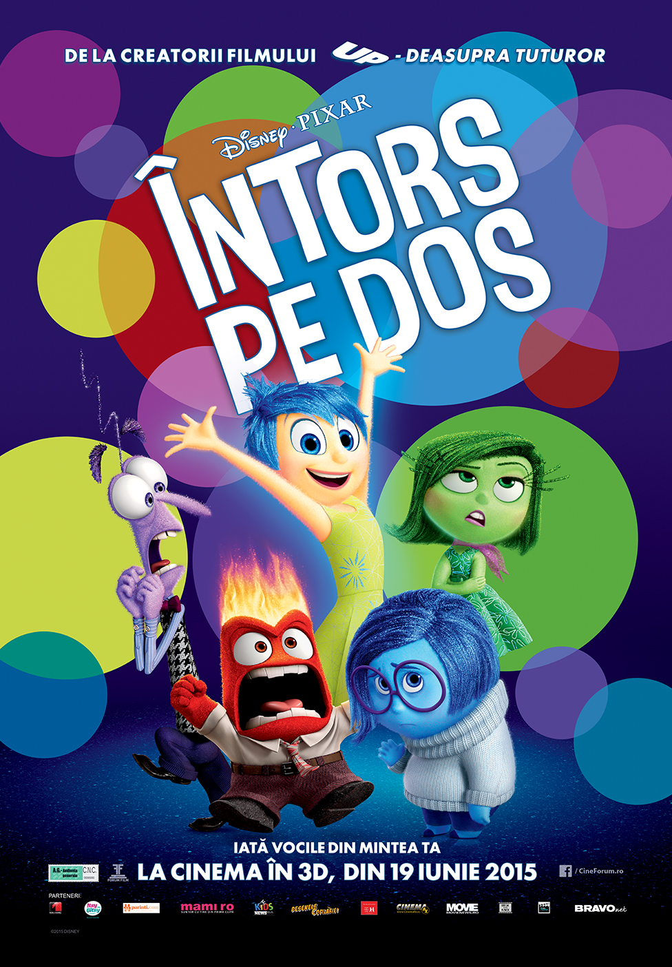 Inside Out (2015) Online Subtitrat HD