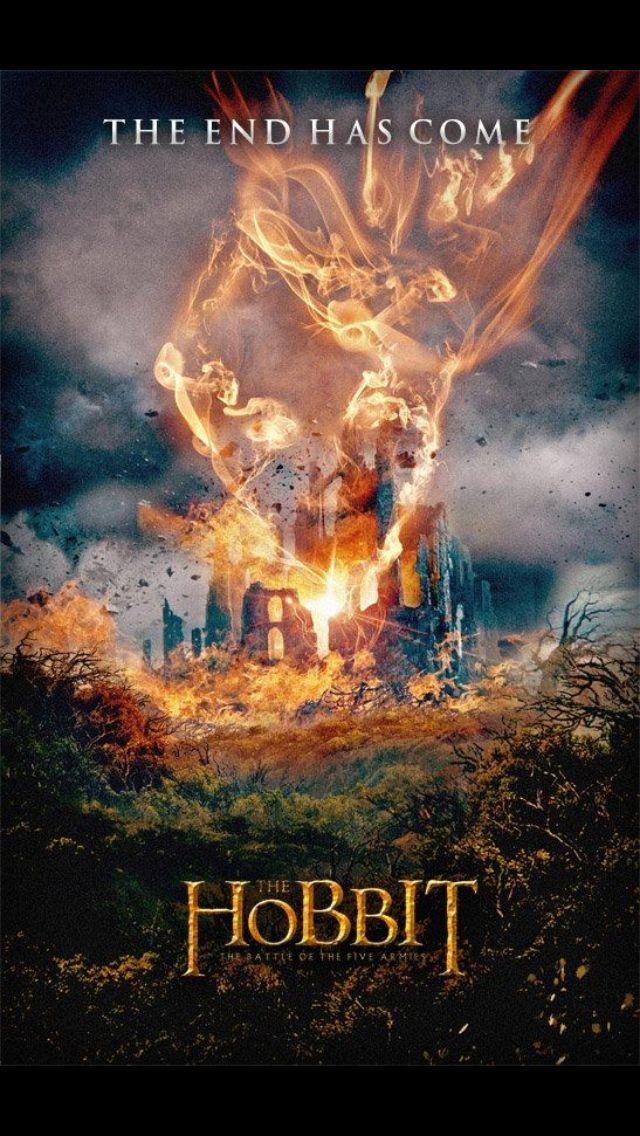 poster rezolutie mare the hobbit the battle of the five