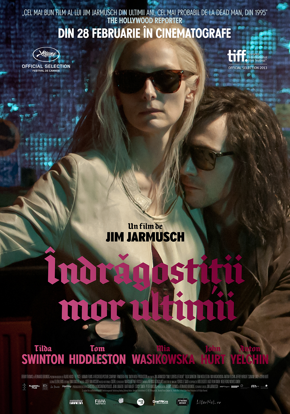 Only Lovers Left Alive (2013) HD