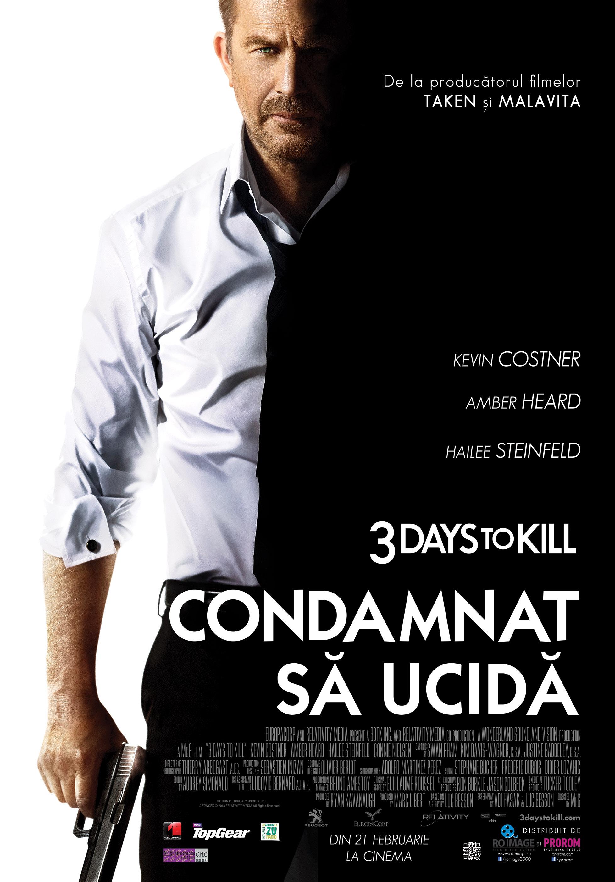 Filme Online - 3 Days to Kill (2014) HD
