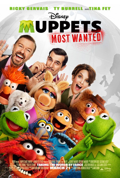 Post Thumbnail of Muppets Most Wanted (2014)