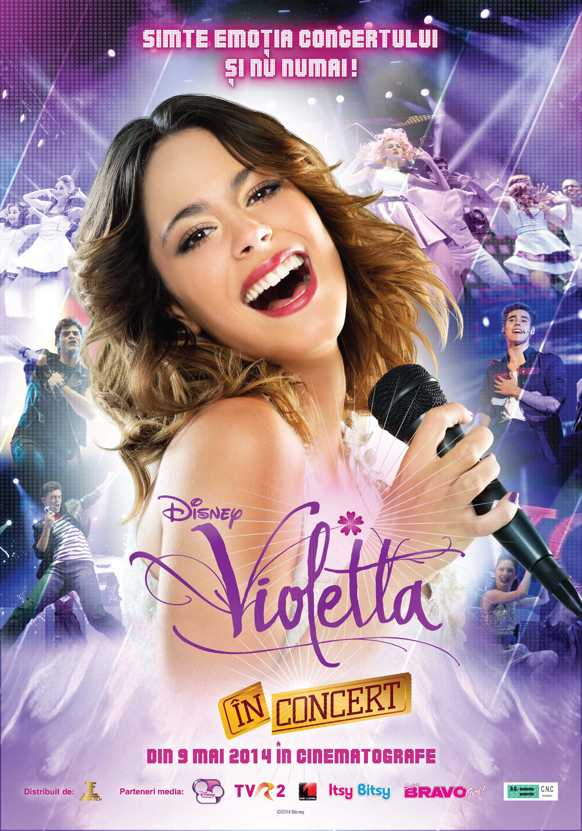 poster violetta the concert 2014 poster violetta n. Black Bedroom Furniture Sets. Home Design Ideas