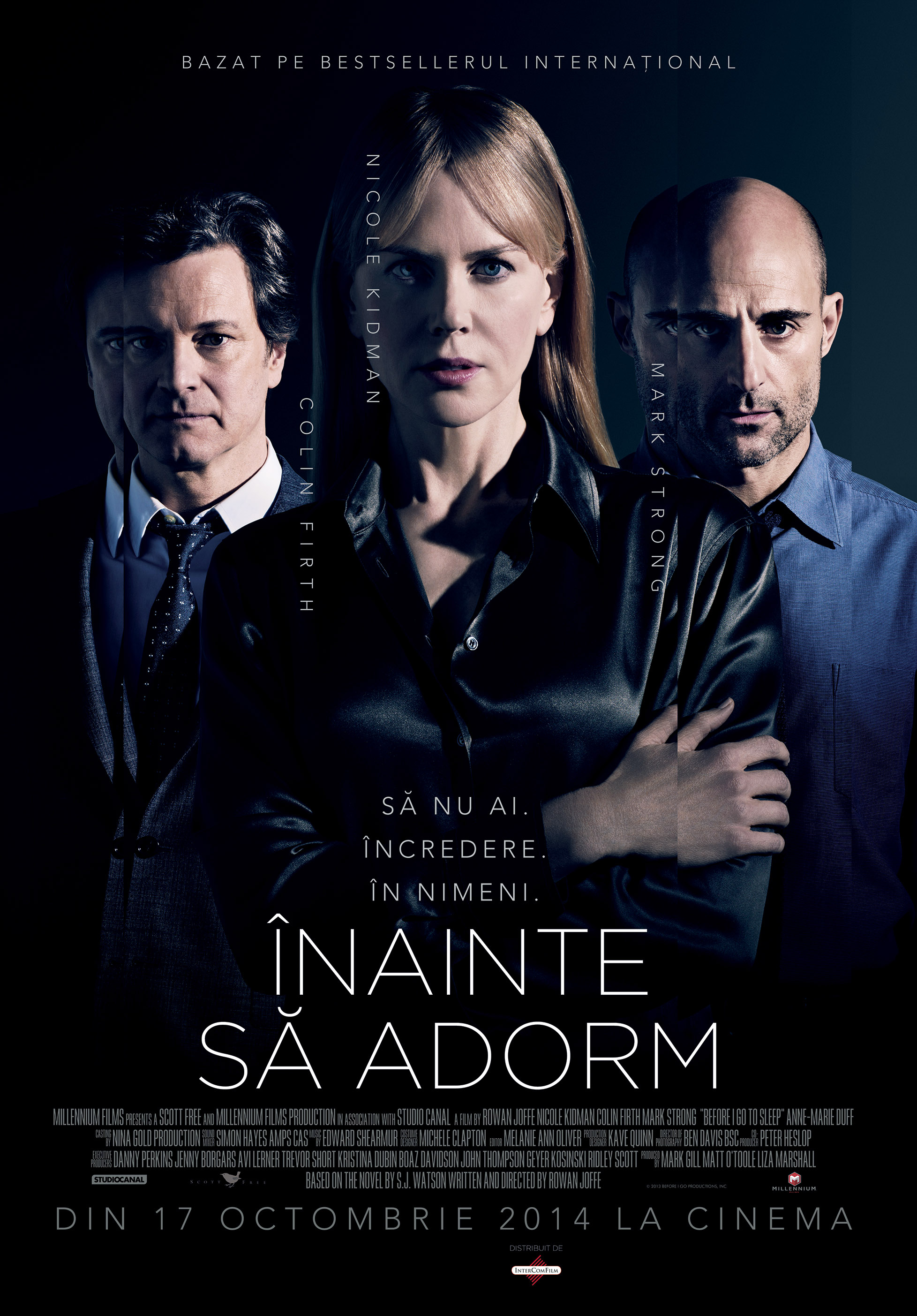 BEFORE I GO TO SLEEP – INAINTE SA ADORM (2014)