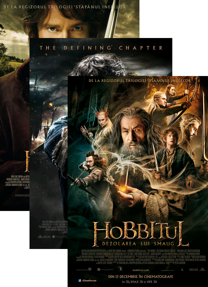 the hobbit movie trilogy titles for essays