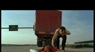 Trailer Sivi kamion crvene boje