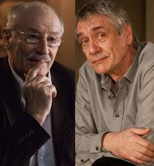 """Victor Rebengiuc şi Marcel Iureş, """"psihanalizaţi"""" de camera lui Constantin Popescu"""