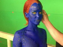 Jennifer Lawrence, în prima imagine drept Mystique în X-Men: Days of Future Past