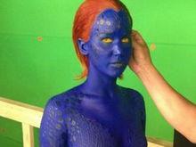 Jennifer Lawrence, în prima imagine drept Mystique în X-Men: Days of Future Past