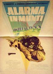 Poster Alarma in munti