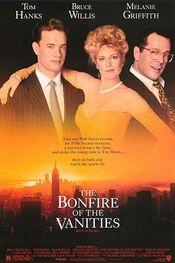 Poster The Bonfire of the Vanities