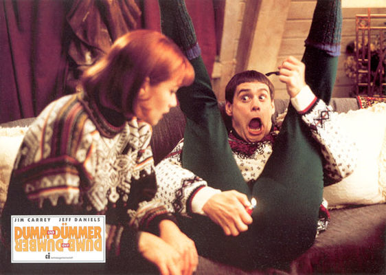 Jim Carrey, Lauren Holly n Dumb &amp; Dumber