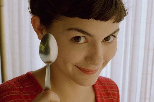 Audrey Tautou în Le fabuleux destin d'Amélie Poulain