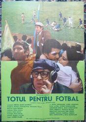 Poster Totul pentru fotbal