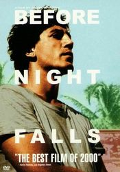 Poster Before Night Falls