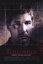 Poster Red Corner