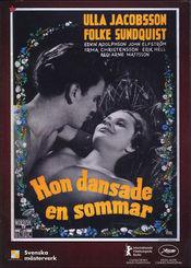 Poster Hon dansade en sommar
