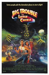 Poster Big Trouble in Little China