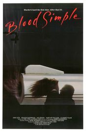 Poster Blood Simple.