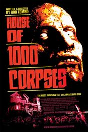 Poster House of 1000 Corpses
