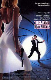 poster James Bond 007: The Living Daylights
