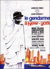 Poster Le Gendarme a New York