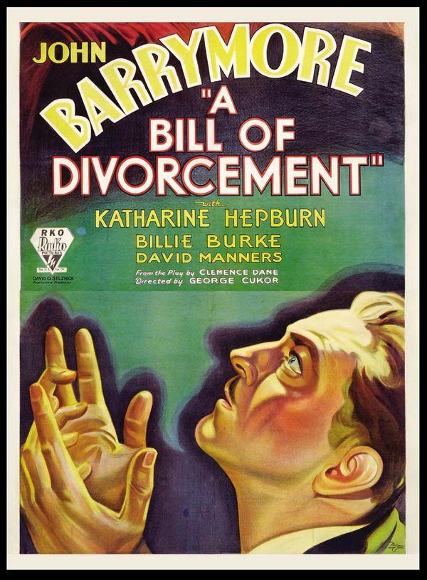 A bill of divorcement online dating 7