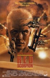 Poster Red Scorpion