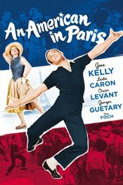 Poster An American in Paris
