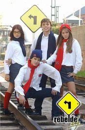 Poster Rebelde Way