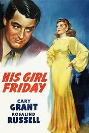 Poster His Girl Friday