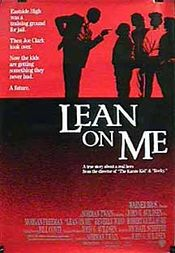 Poster Lean on Me